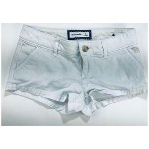 Abercrombie Kids Girls Sz 12 Short Shorts White